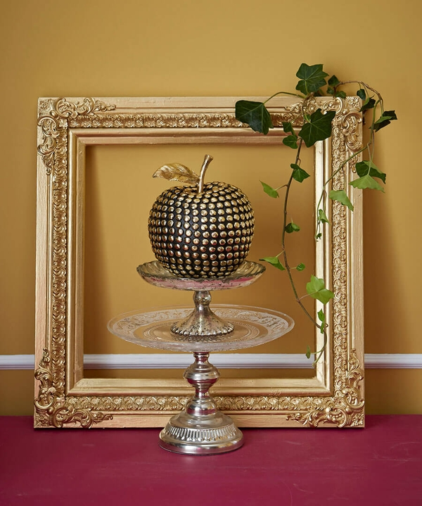 Gold Studded Fruit Deco