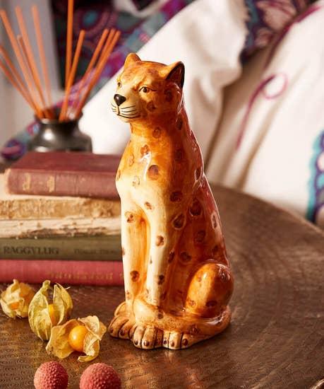Handsome Ceramic Leopard