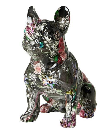 Floral French Bulldog