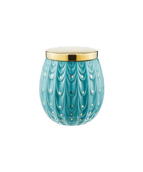 Decorative Peacock Storage Pot
