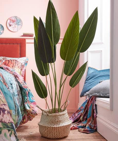 Paradise Faux Potted Plant