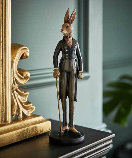 Stately Rabbit Ornament