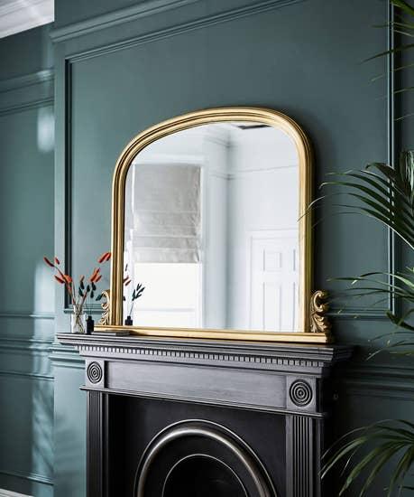 Statement Mantle Mirror