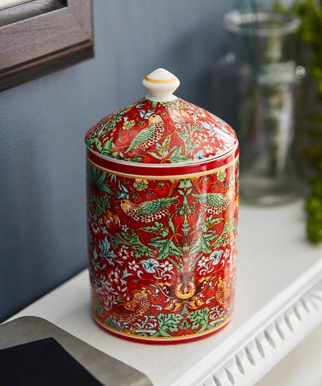 William Morris Candle Pot
