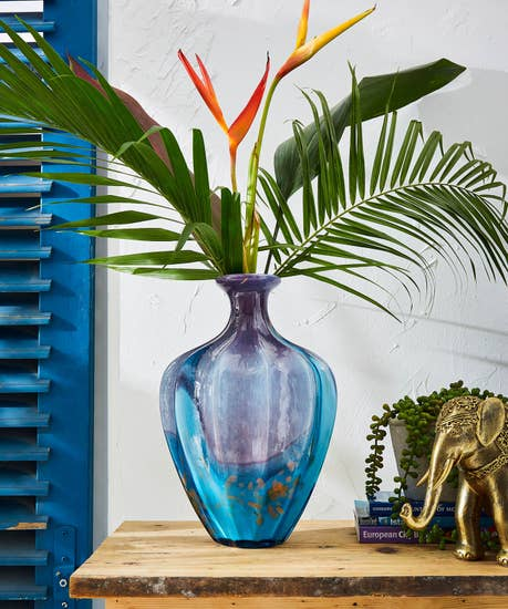 Brilliantly Blue Vase