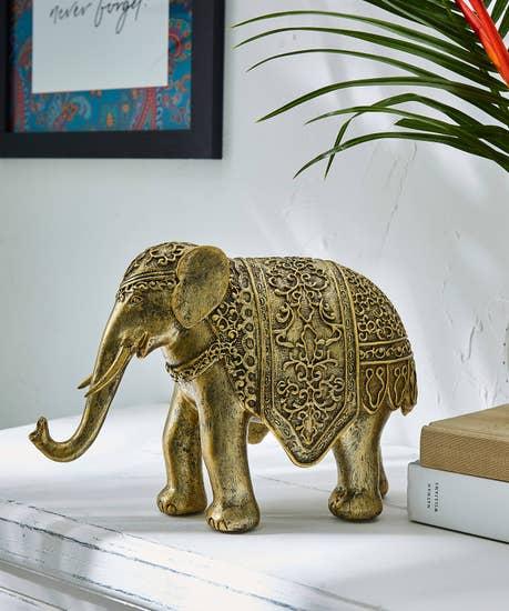 Majestic Gold Elephant