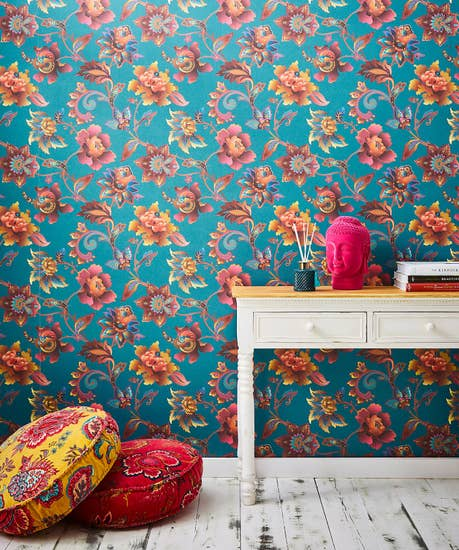 Fabulous Floral Wallpaper