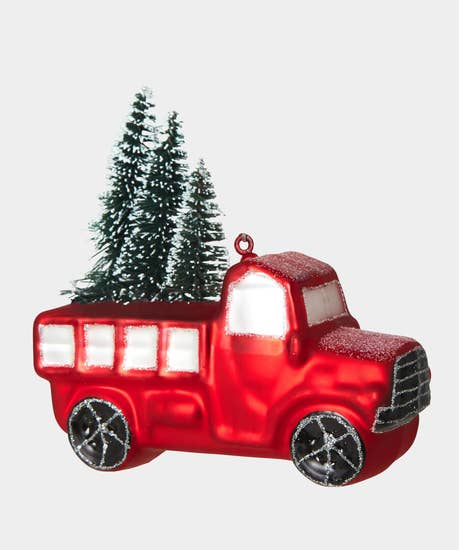 Truck Tree Decoration