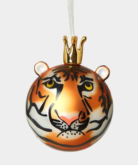 Crowned Animal Tree Decoration