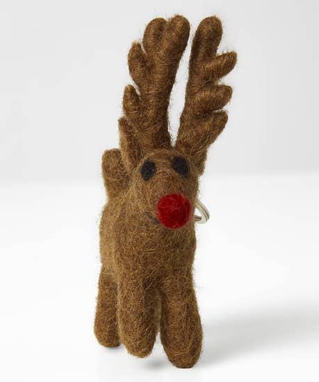 Rudolph Felt Keyring