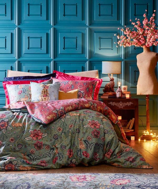 Hop To It Floral Duvet Set (S/K)