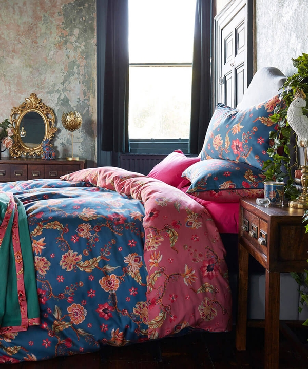 Vintage Floral Duvet Set (KING)