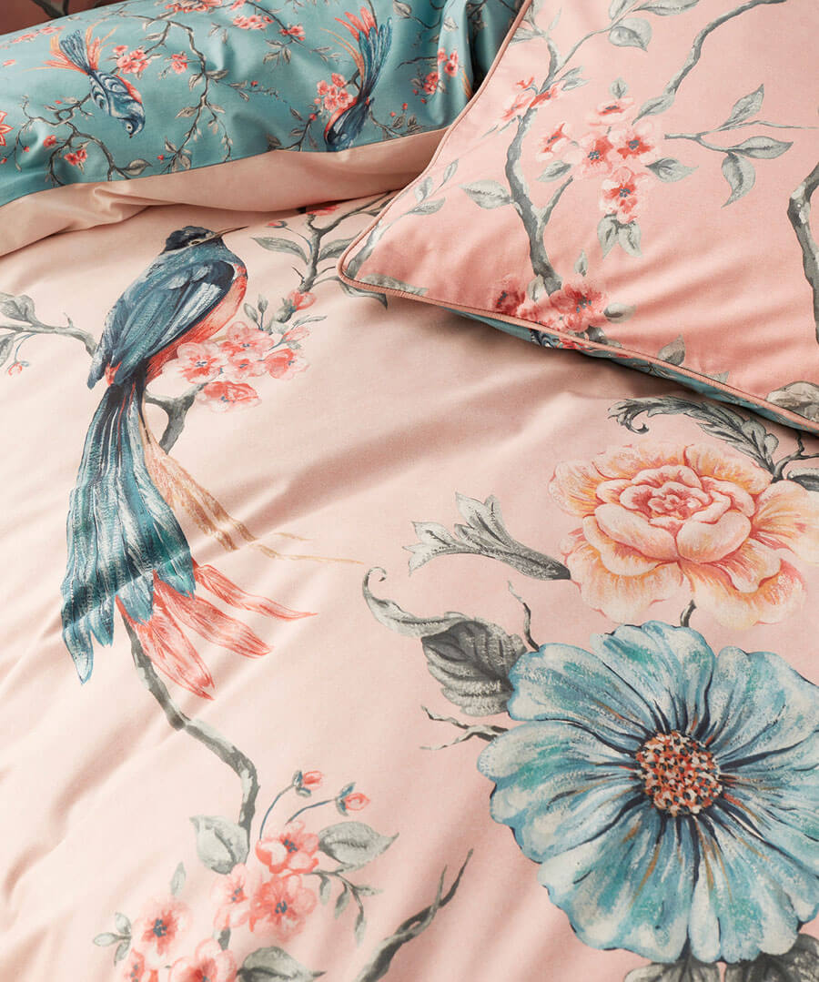 Exotic Bird Duvet Set (DBL)