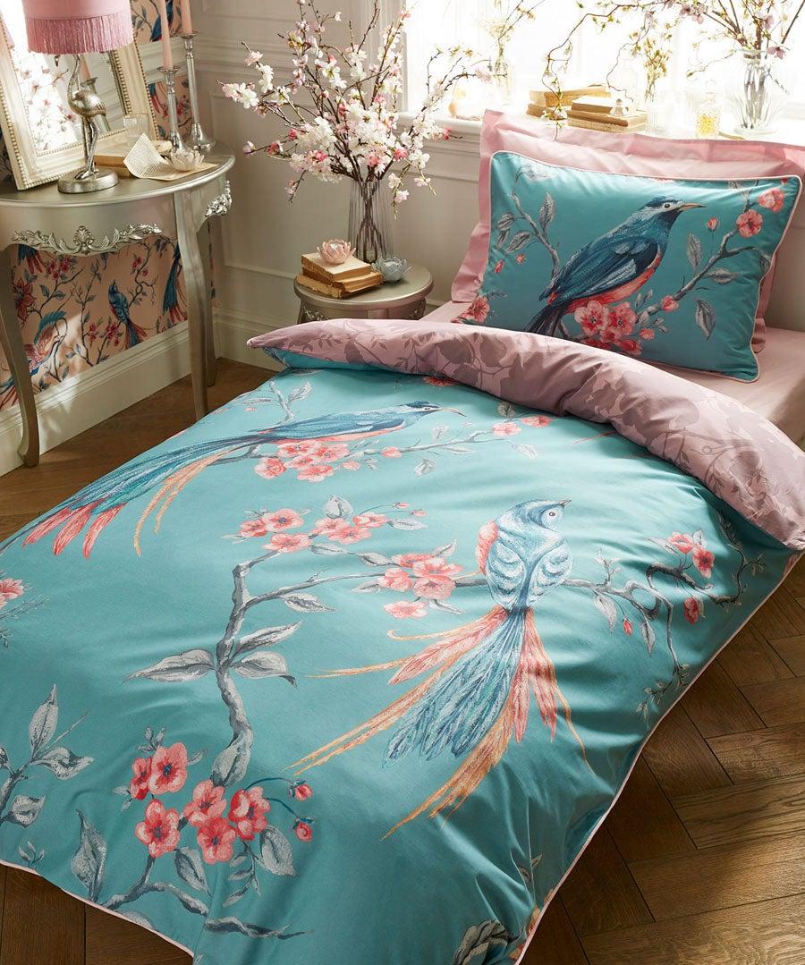 Exotic Floral Duvet Set (SGL)