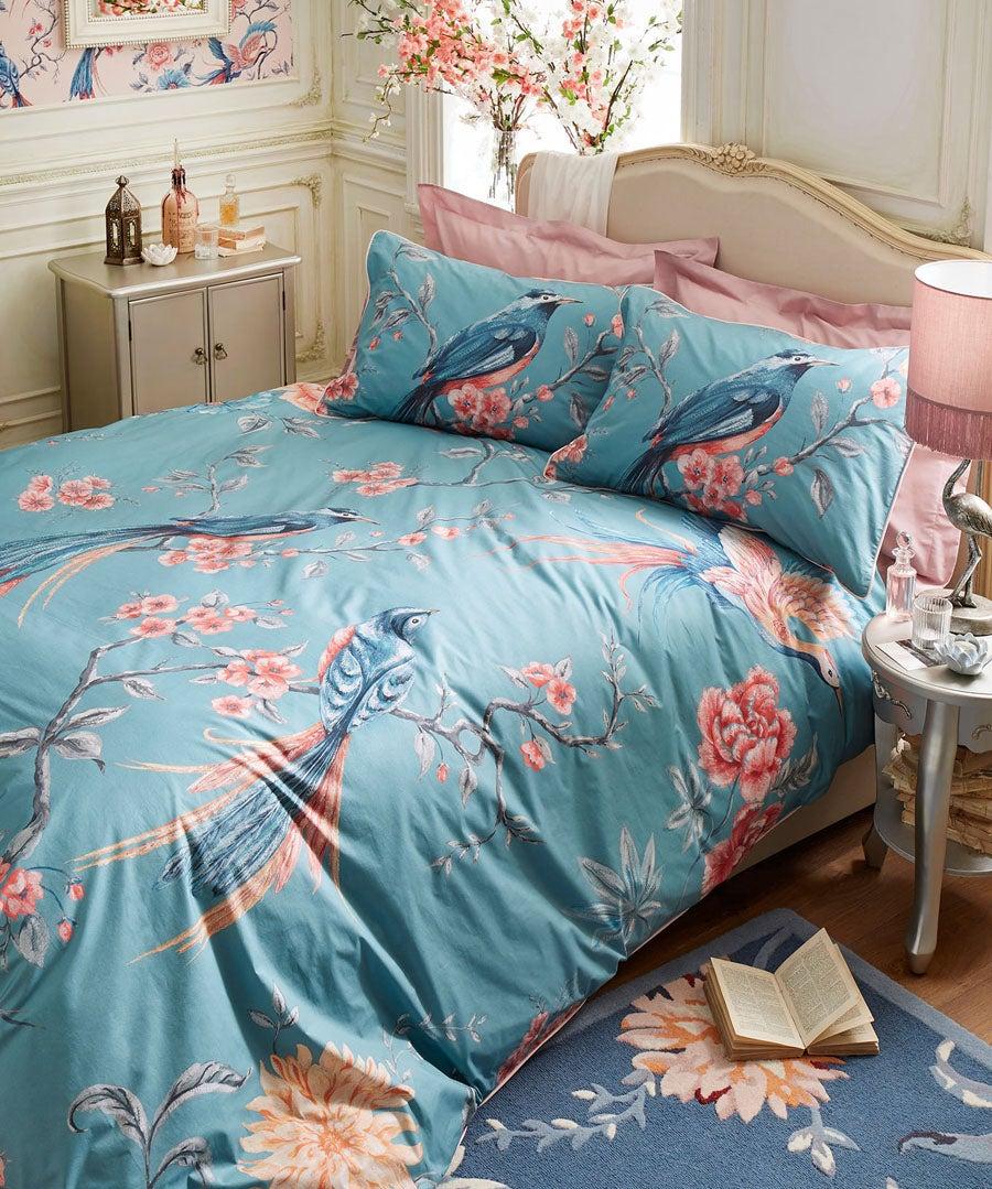 Exotic Florals Duvet Set (S/K)