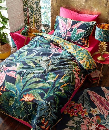 Vibrant Floral Duvet Set (SGL)