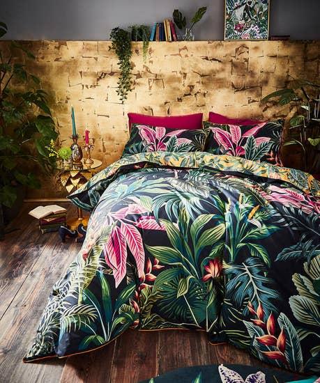 Vibrant Floral Duvet Set (KING)