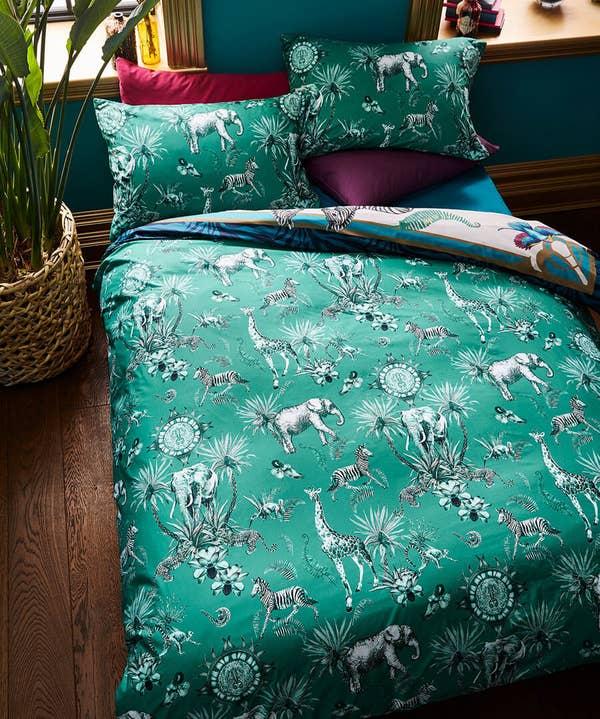 Opulent Safari Infused Bed Set