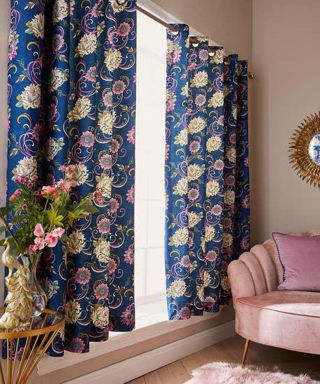 Fabulous Floral Curtains