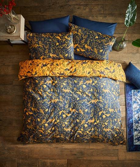 Fantastic Fox Brushed CottoN Bed Set