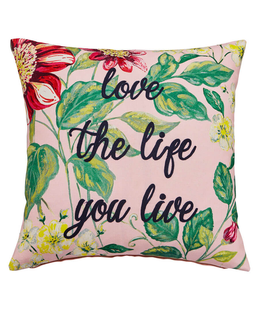 Love Life Cushion Model Front