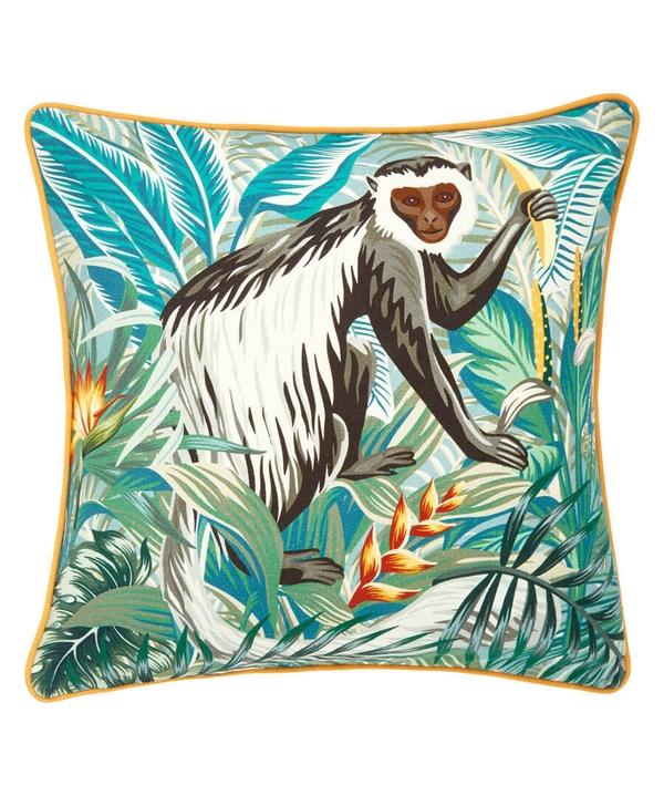 Monkey Jungle Cushion