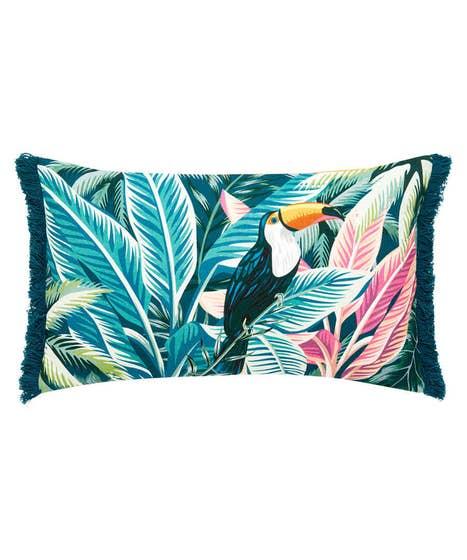 Toucan Fringe Cushion