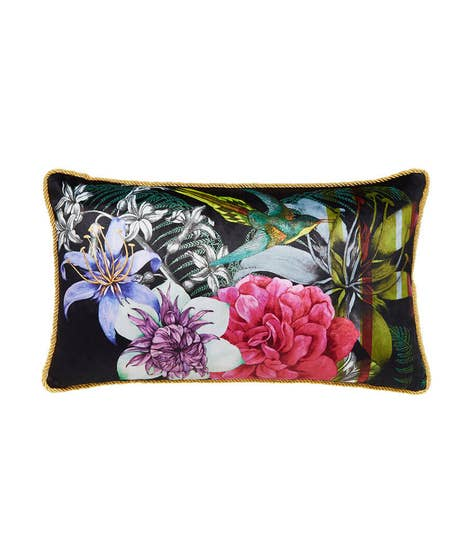 Bold Floral Reversible Cushion