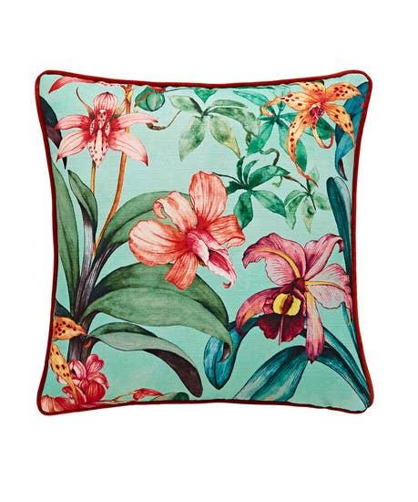 Tropical Floral Cushion