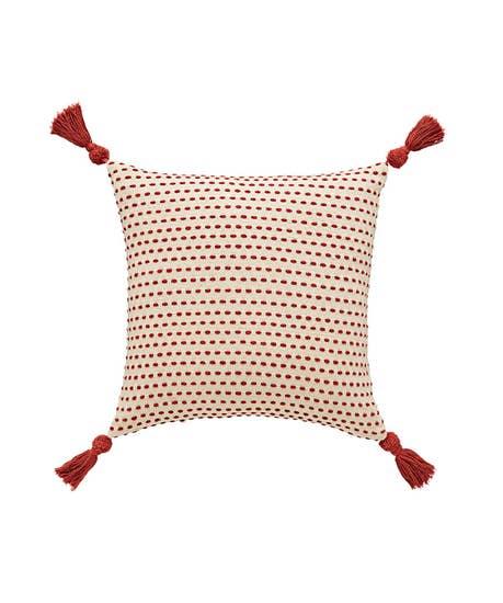 Cotton Tassel Cushion