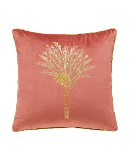 Embroidered Palm Cushion