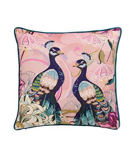 Perfect Peacock Cushion