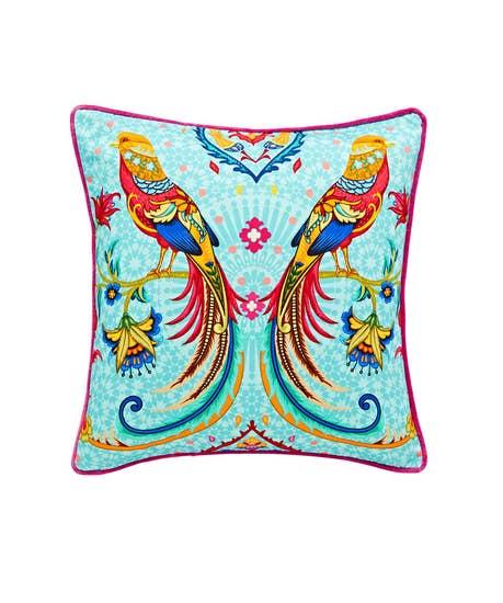 Folk Bird Cushion