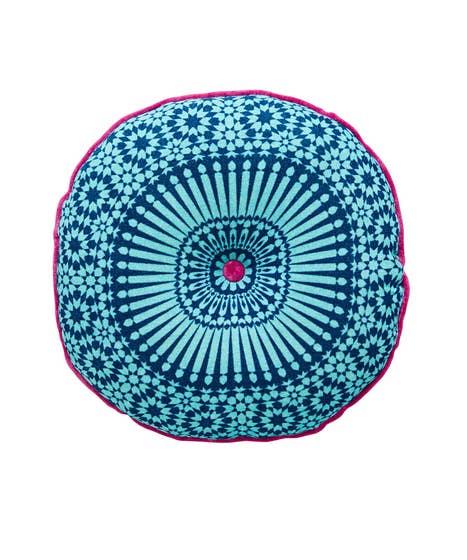 Round Moroccan Cushion