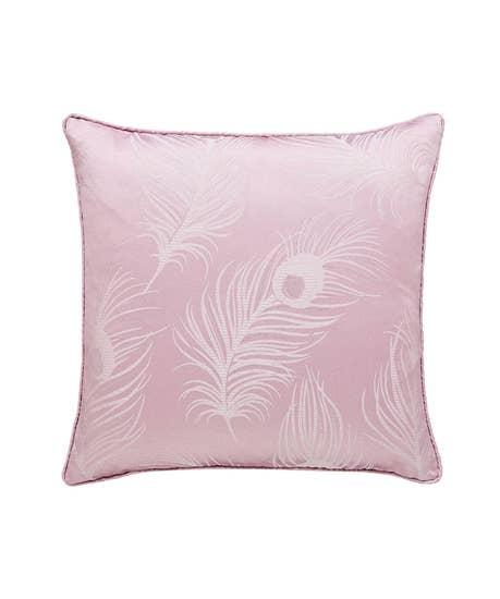 Luxury Jacquard Feather Cushion