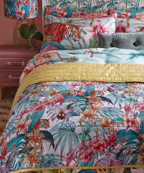 Truly Tropical Bedspread