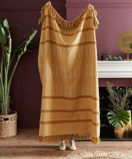 Supersoft Knitted Throw