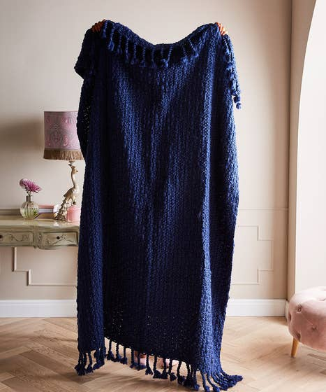 Cosy Knit Throw