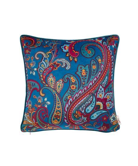 Paisley Print Cushion