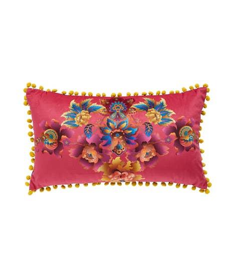 Floral Burst Boudoir Cushion