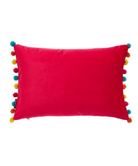Funky Pom Pom Cushion