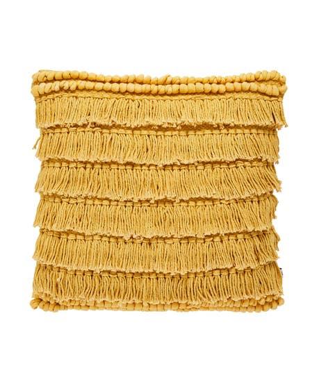 Fabulous Cotton Fringe Cushion
