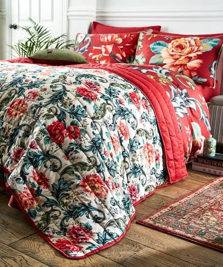Heritage Floral Bedspread