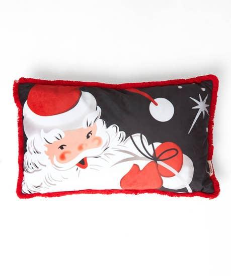 Santa Boudoir Cushion