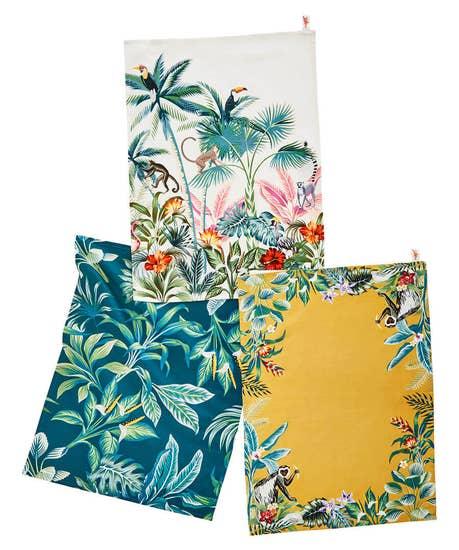 Paradise Tea Towels