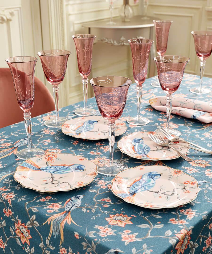 Set Of 4 Champagne Flutes Model Back