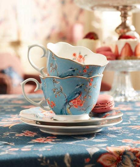 Set Of 2 Teacups