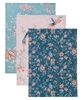 French Blossom Tea Towels
