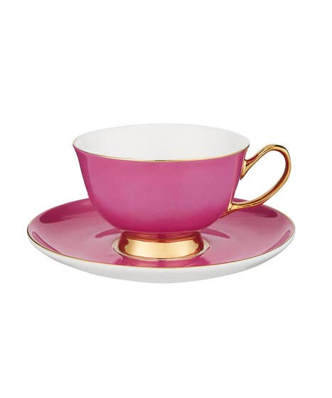 Terrific Teacup And Saucer