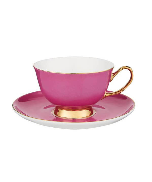 Terrific Teacup And Saucer